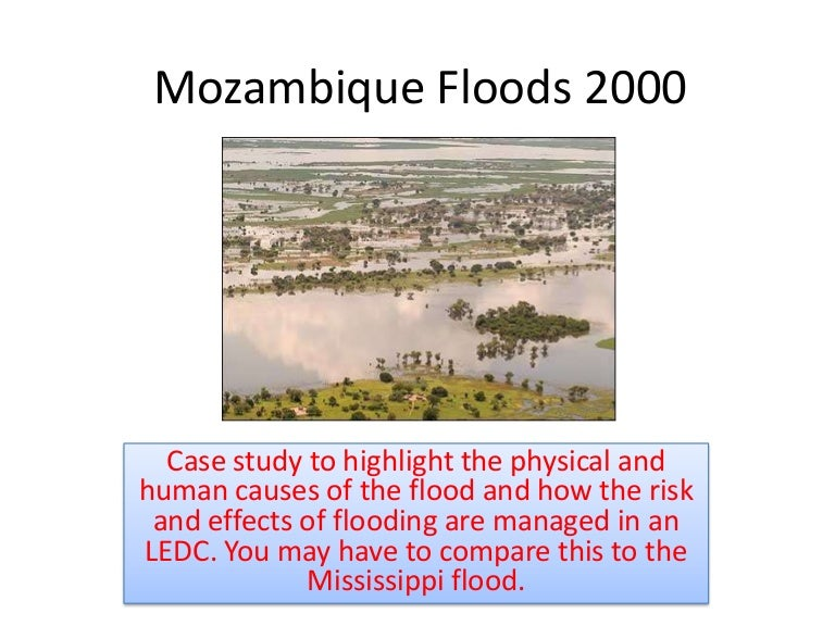 case study of floods
