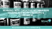 MOZCON 2017 WINNING WITH CHOICE & INFORMATION SYSTEMS FOR BOTH CRAWLERS & CONSUMERS