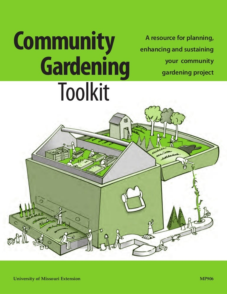 Community Gardens Toolkit A Resource for Planning your Community Gar – Plan A Garden Tool