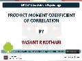 Mpc 006 - 02-01 product moment coefficient of correlation