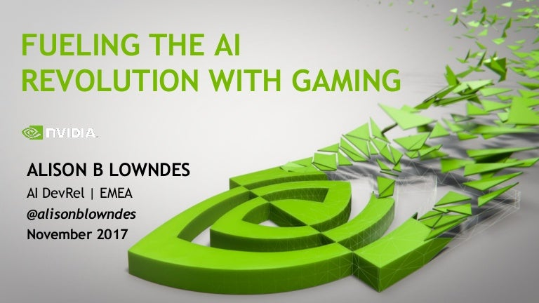 Alison B Lowndes - Fueling the Artificial Intelligence Revolution wit…