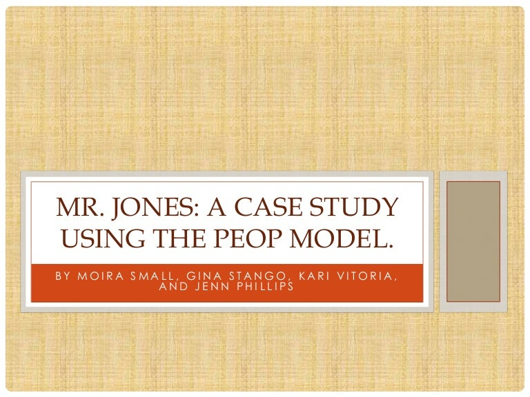 Mr Jones Peop Theory Applied To Treatment Offers may be subject to change without notice. mr jones peop theory applied to treatment