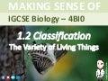 Mr Exham IGCSE - Classification