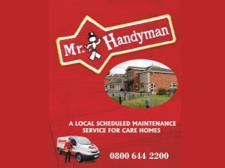 Mr handyman home care presentation cambridge