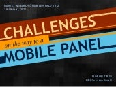 Challenges on the Way to a Mobile Panel