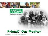 MSA PrimaX Gas Monitor