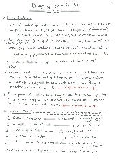 design of experiment notes