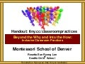 Montessori School of Denver Inclusive Classroom Practices