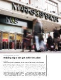 How Marks & Spencer Engages Suppliers in Sustainability