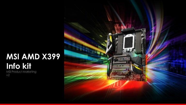 Msi X399 Motherboard Info Kit