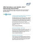 MSP Quotes: CRU Solutions