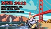 MSR 2013 Preview