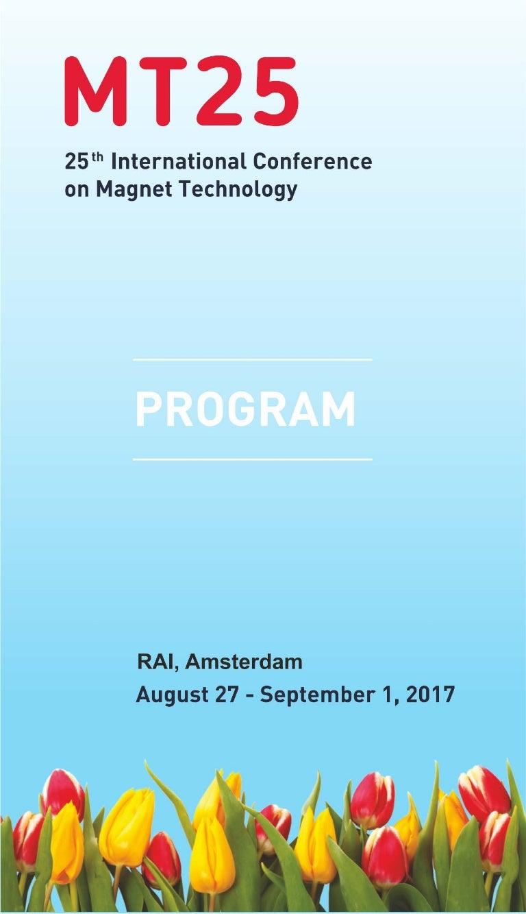 MT25 Program Book
