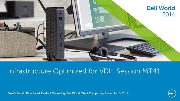 Data Center Infrastructure Optimized for Desktop Virtualization