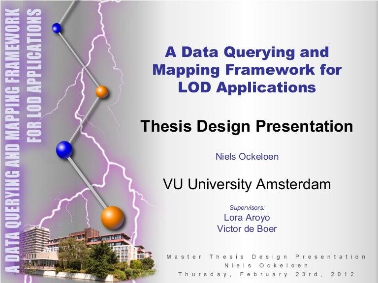 niels ockeloen msc thesis proposal presentation