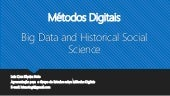 Seminário - Apresentação do Artigo - Big Data and Historical Social Science