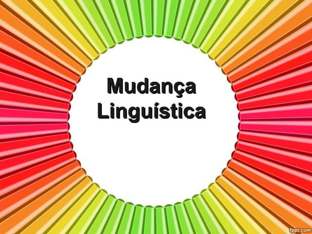 Mudança linguística
