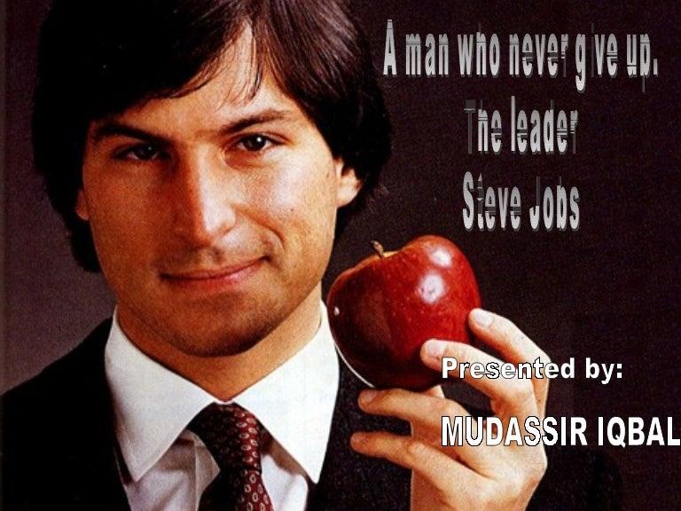 Steve Jobs Leadership Role