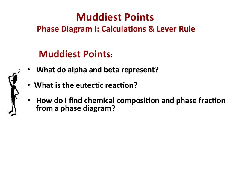 Mseasuslides muddiest point phase diagrams i eutectic calculations ccuart Gallery