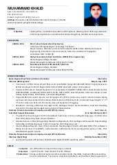 telecommunication resume