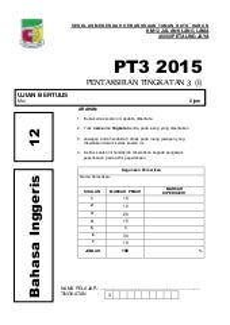 Template Muka Surat Hadapan Kertas Soalan Pt1