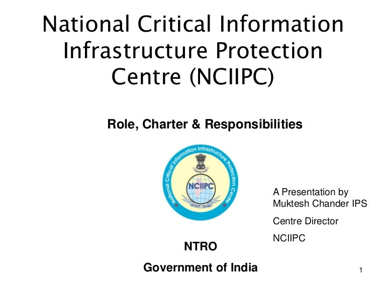 National Critical Information Infrastructure Protection