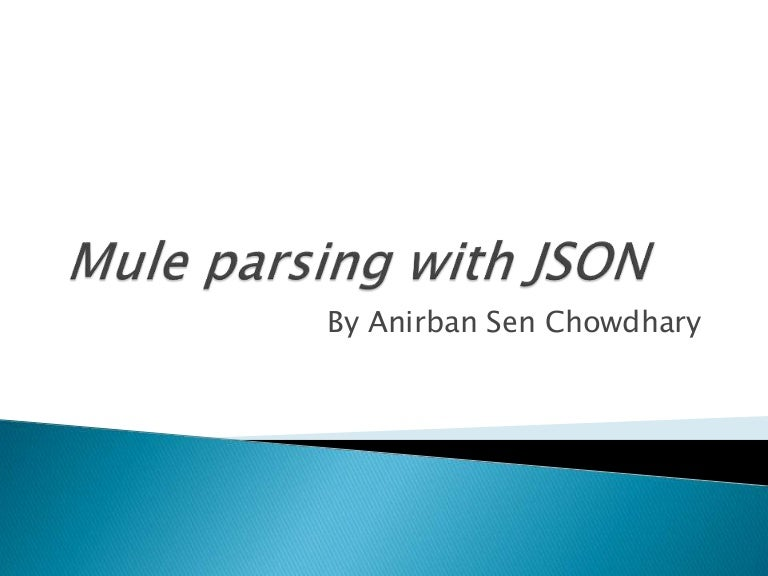 mule parsing with json