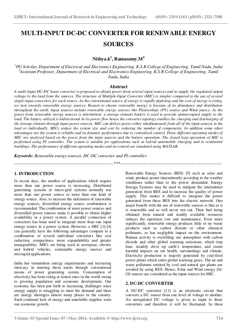 research paper alternative energy sources Renewable energy is an international, multi-disciplinary journal in renewable energy engineering and research the journal aims to be a leading peer-reviewed platform and an authoritative source of original research and reviews related to renewable energy.