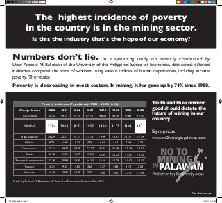 Arsenio M. Balisacan - Multidimensional Poverty 09 Oct 2011