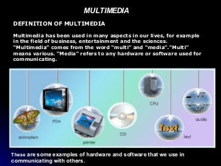 multimedia element