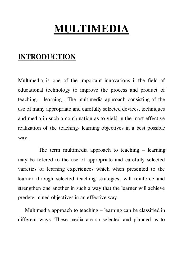 Classification of teaching methods