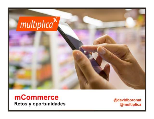 mCommerce: Retos y oportunidades