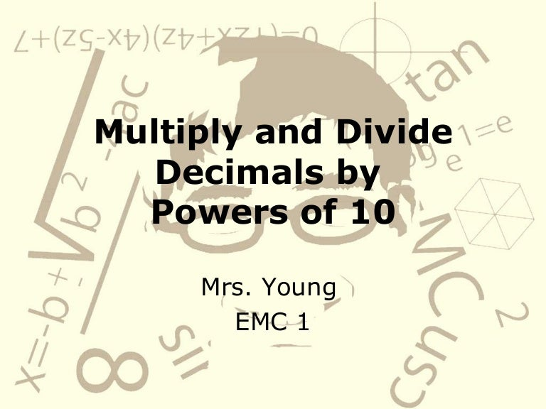 Multiply And Divide Decimals By Powers Of 10 – Multiplying Decimals by Powers of 10 Worksheets