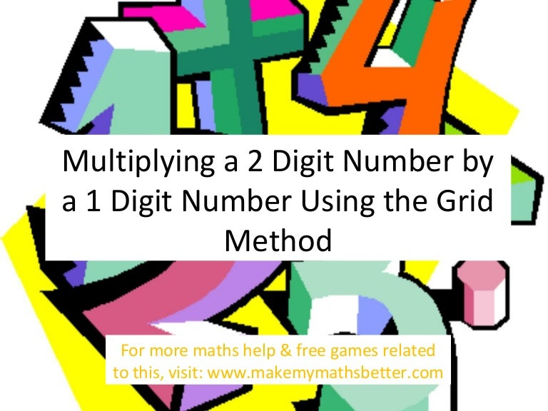 Multiplying a 2 Digit Number by a 1 Digit Number Using The Grid Metho – Ks2 Grid Method Multiplication Worksheet
