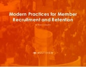 Association Recruitment Practices
