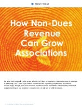 Why More Non-dues Revenue Translates to More Value For Your Members
