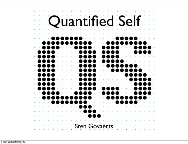 Quantified Self in the Multimedia course.