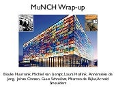 Presentation at the final meeting of the MuNCH project