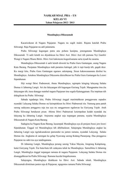 Gapura Basa Smp Ix Smatoku Info