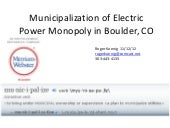 Municipalization process 11 12 12