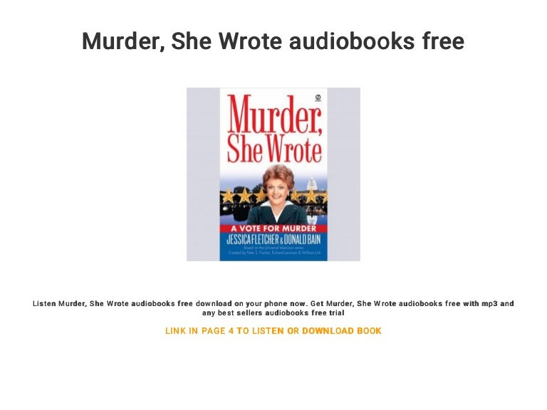 Download murder, she wrote sheet music by john addison sheet.