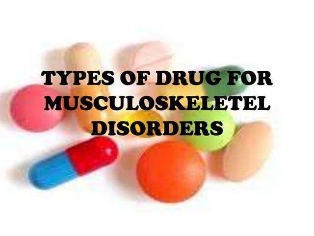 Musculoskeletel drug