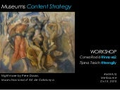 Museums content strategy_workshop_ConxaRoda