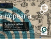 The Europeana Music Collections