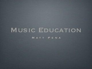 Dissertation in music education