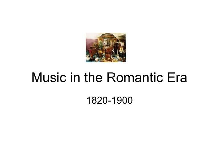 Romantic music genres