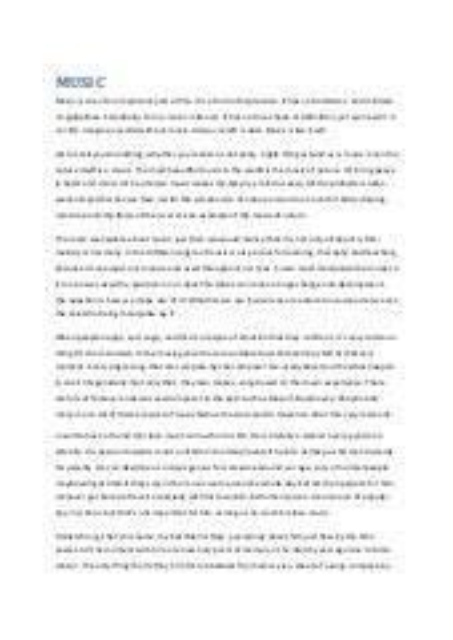 spm english essay about music