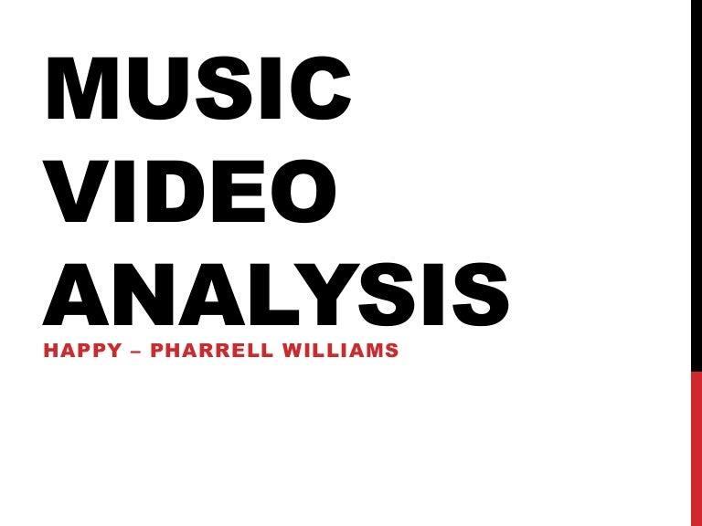 Music video analysis happy