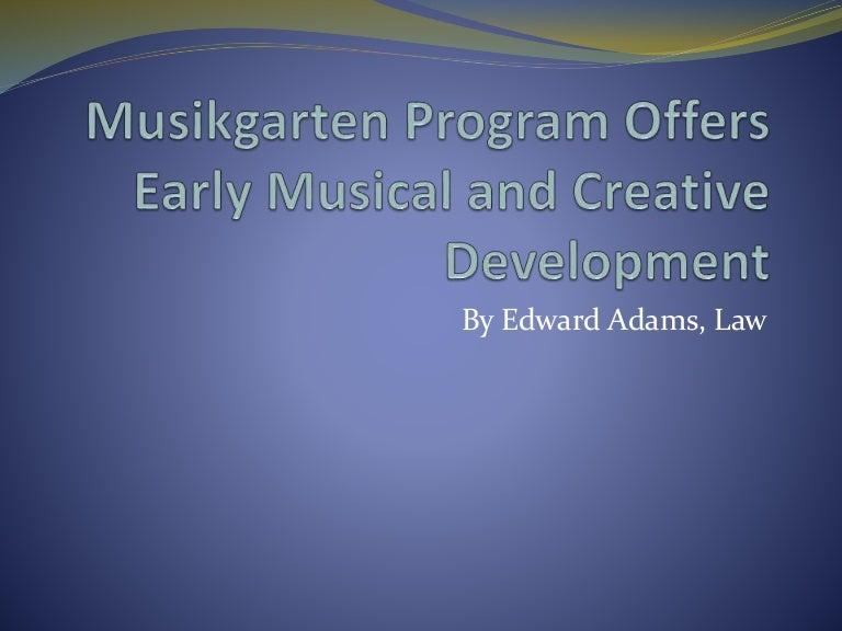 Musikgarten Program Offers Early Musical And Creative Development