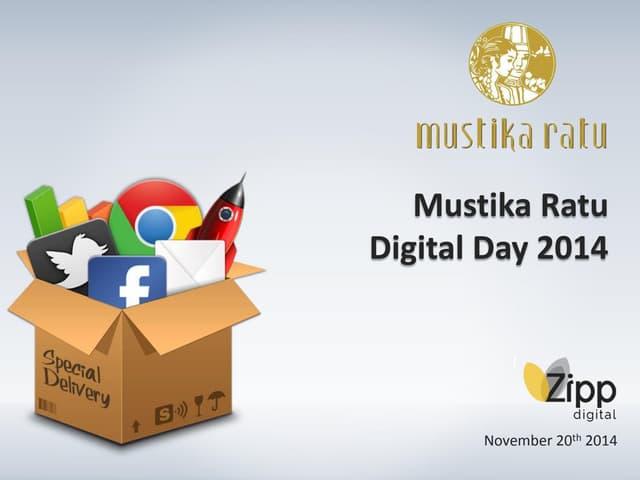 Mustika Ratu Digital Day 2014